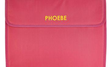 Personalised Document Bag Set