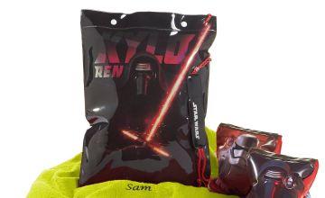 Personalised Star Wars Swimbag Set