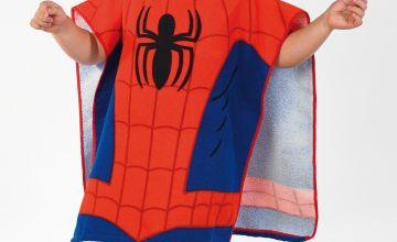 Personalised Poncho - Spider-Man