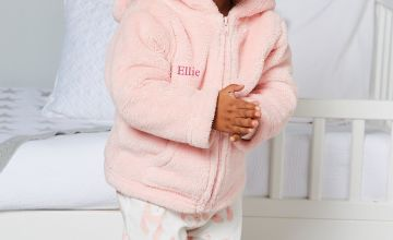 Babys Personalised Embroidered Fleece Jacket