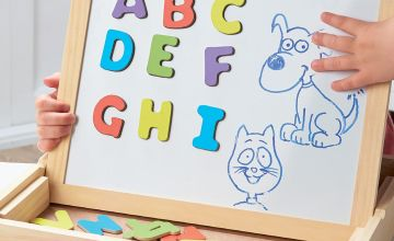 Personalised 3-in-1 Alphabet Magnetic Drawing Box