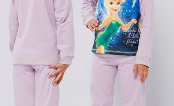 Girls Personalised Tinker Bell Pyjamas