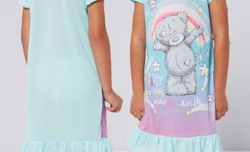 Girls Personalised Tatty Teddy Make A Wish Nightie