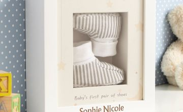 Personalised My 1st Booties Box