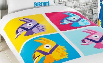 Personalised Fortnite Llama Duvet Set
