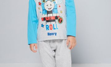 Young Boys Thomas This Is How I Roll Personalised Pyjamas