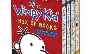 Diary of a Wimpy Kid Box of Books - 4 Books