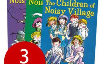 Astrid Lindgren's Noisy Village Collection - 3 Books