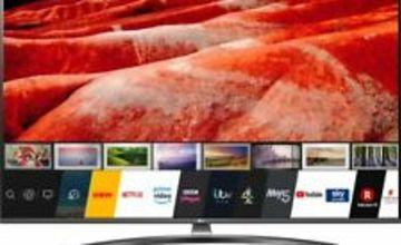 LG 65UM7660PLA UM7660 65 Inch TV Smart 4K Ultra HD LED Freeview HD and Freesat