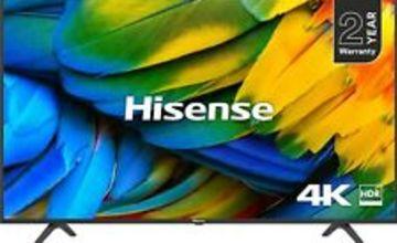 "Hisense H43B7100 43"" 4K Ultra HD Smart HDR LED TV with Freeview Play H43B7100UK"