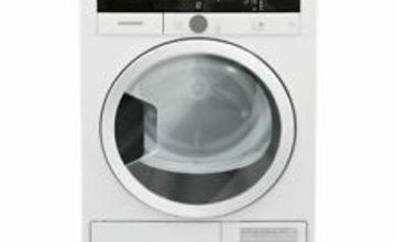 GRUNDIG GTN28240GW 8 kg Heat Pump Tumble Dryer - White - Currys