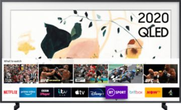 Samsung QE43LS03TA The Frame 43 Inch Smart 4K Ultra HD QLED Freeview HD 4 HDMI