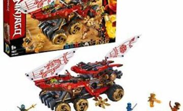 LEGO NINJAGO Land Bounty Toy Truck Ninja Car for Kids 70677
