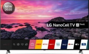 "LG 55NANO906NA 55"" Smart 4K Ultra HD HDR LED TV Google Assistant & Amazon Alexa"
