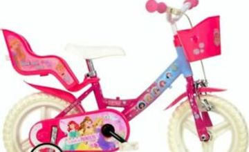 "Licensed Children's Pedal Bike - Disney Princess 12"" Wheel Bicycle"