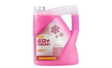 Coolant Antifreeze G12+ RED Ready Mixed 5L Long Life German Hi Spec 5 Litre