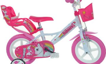 "Licensed Children's Pedal Bike - Unicorn 12"" Wheel Bicycle"