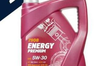 Mannol 2x5L Premium 5w30 Fully Synthetic Long Life Engine Oil Low Saps C3 dexos2
