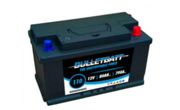 Type 110 Car Van Battery 12V 80Ah 4 Years Warranty Sealed OEM Quality - Next Day
