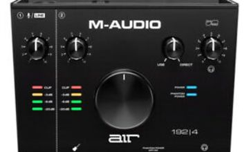 M-Audio AIR 192 4 2-In 2-Out 24/192kHz USB Audio Interface