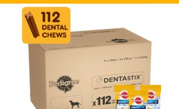 Up to 48% off Pedigree Dentastix Dental Dog Treats