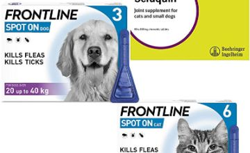 15% off Frontline Spot On and Seraquin products