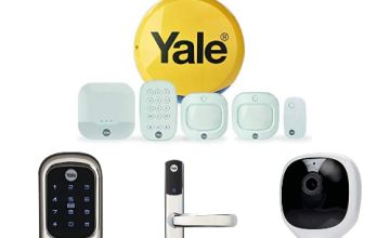 Up to 35% off Yale Home Security