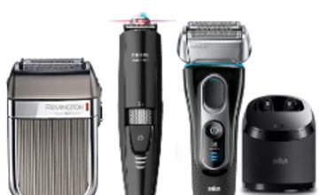 Up to 63% off Men's Grooming including Braun, Philips & Remington