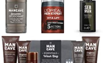 Up to 40% off ManCave and L'Oreal