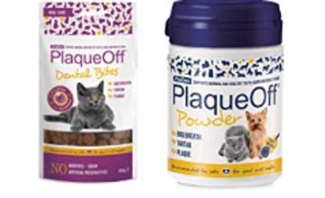 15% off ProDen PlaqueOff Treats and Supplements