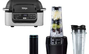 Save up to £30 on NINJA Blender and Health Grill