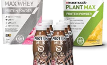 Up to 32% off Maximuscle Protein Milk, Max Whey and more