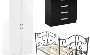 Up to 20% off Vida Designs Bedroom Furniture