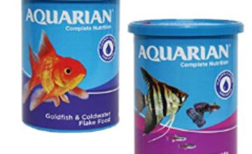 25% off fish food by AQUARIAN