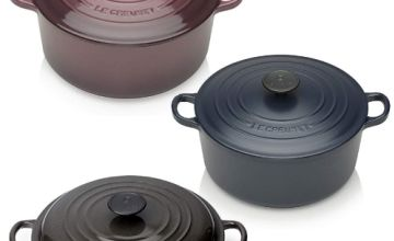 50% off Le Creuset Cast Iron Casseroles