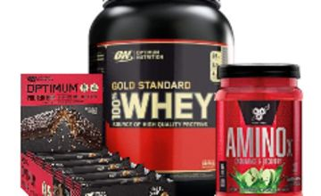 Up to 50% off Optimum Nutrition, BSN &  more