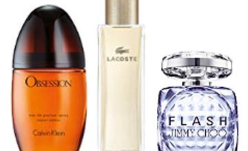 Up to 60% off Luxury Fragrances for Women from Jimmy Choo, Calvin Klein, Lacoste and more