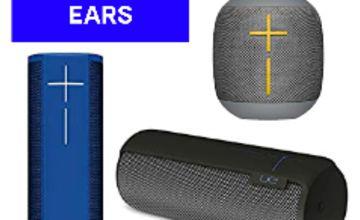 Up to 40% off Ultimate Ears Boom 2, Megaboom and Wonderboom Bluetooth Speakers