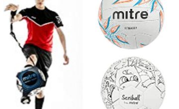 Up to 20% off Mitre Footballs, Netballs, Goals and more