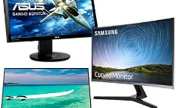 20% off PC Monitors including ASUS, Samsung, HP and LG