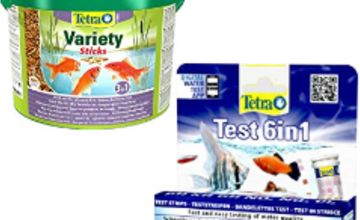 15% off Tetra aquatic products