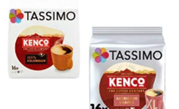 Up to 32% off Tassimo Kenco Coffee Pods