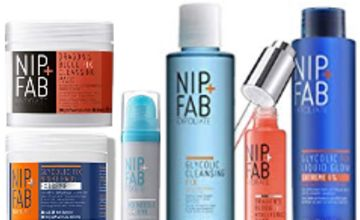 Up to 65% off Nip+Fab Skincare Bestsellers