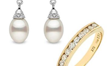 Up to 30% off Pearl and Diamond Jewellery