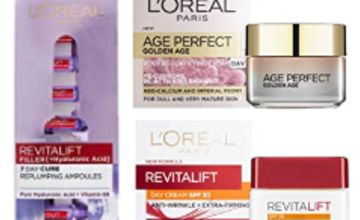 Up to 50% off L'Oreal Paris Skin Care