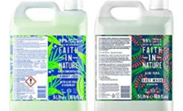 Up to 30% off Faith in Nature 5L Laundry and Body Wash