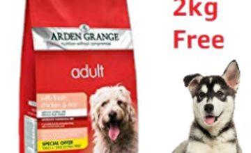 19% off 14kg Arden Grange Adult Chicken & Rice
