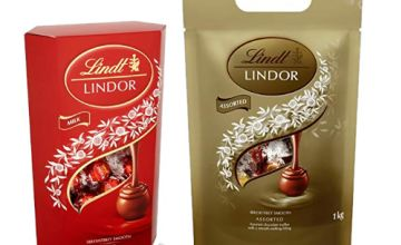 Up to 37% off Lindt Lindor Chocolate (Various Flavours)