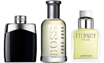 Up to 60% off Fragrances for Men from Calvin Klein, Montblanc, Hugo Boss and more