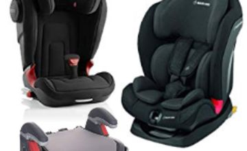 Up to 30% off Maxi-Cosi, Britax and Graco Toddler Car Seats